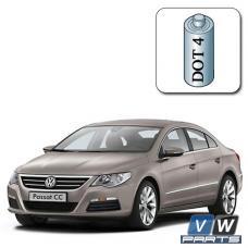 Стоимость замены тормозной жидкости на Volkswagen Passat CC