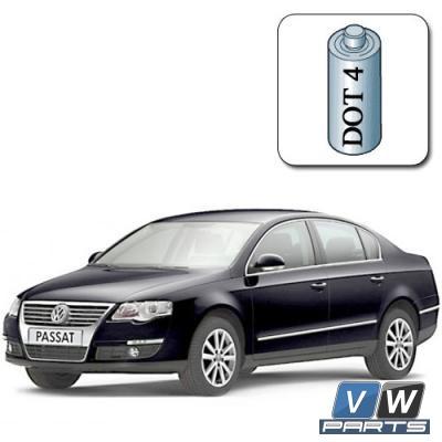 Стоимость замены тормозной жидкости на Volkswagen Passat B6