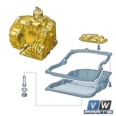 Масло 6 АКПП с фильтром Volkswagen Passat B6  - замена, vw-parts.ru