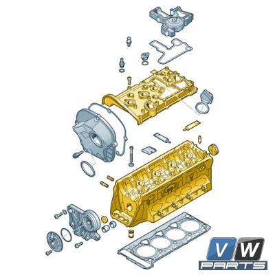 Головка цилиндра Volkswagen Tiguan - замена, vw-parts.ru