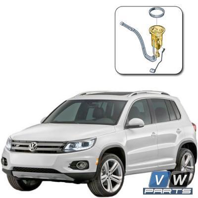 Фильтр топливный в баке Volkswagen Tiguan - замена, vw-parts.ru