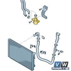 Дополнительный насос охлаждающей жидкости Volkswagen Tiguan - замена