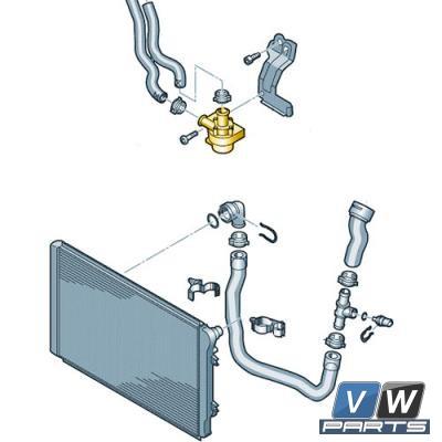 Дополнительный насос охлаждающей жидкости Volkswagen Tiguan - замена, vw-parts.ru