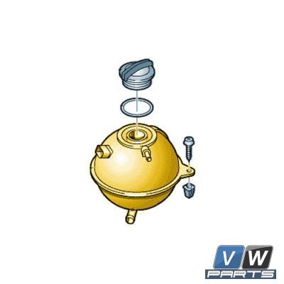 Расширительный бачок системы охлаждения Volkswagen Tiguan - замена, vw-parts.ru