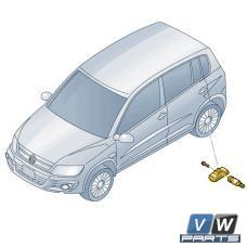 Датчик давления воздуха в шине Volkswagen Tiguan - замена (1 шт.)