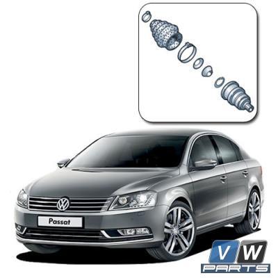 Замена наружного ШРУСа на Volkswagen Passat B7
