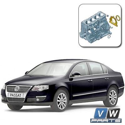 Замена заднего сальника коленвала на Volkswagen Passat B6