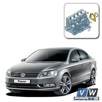 Замена заднего сальника коленвала на Volkswagen Passat B67