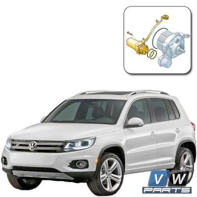 Насос муфты Халдекс на Volkswagen Tiguan I (2008-2016) - замена