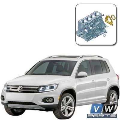 Сальник  коленвала задний на Volkswagen Tiguan - замена