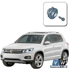 Ступица передняя (для переднего и полного привода) на Volkswagen Tiguan I (2008-2016) - замена