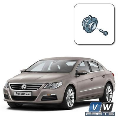 Замена передней ступицы на Volkswagen Passat CC
