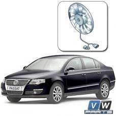 Замена вентилятора с блоком управления на автомобиле Volkswagen Passat B6