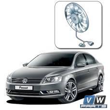 Замена вентилятора с блоком управления на автомобиле Volkswagen Passat B7