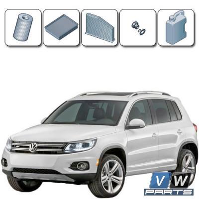 Плановое ТО-1, ТО-3, ТО-5 на автомобиле Volkswagen Tiguan (2.0 TDI)