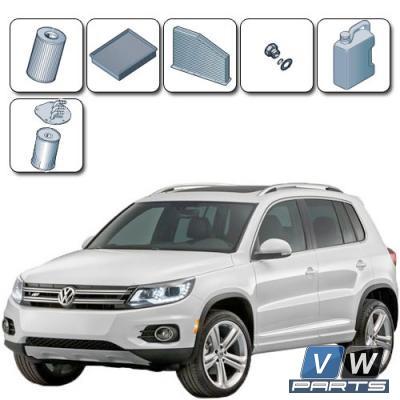 Плановое ТО-2, ТО-4, ТО-6 на автомобиле Volkswagen Tiguan (2.0 TDI)