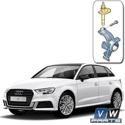 Амортизатор передний Audi A3 - замена, vw-parts.ru