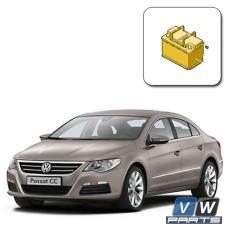 Замена аккумулятора на автомобиле Volkswagen Passat CC