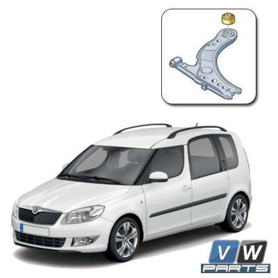 Сайлентблок переднего рычага задний Skoda Roomster - замена, vw-parts.ru