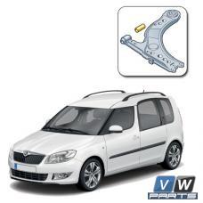 Сайлентблок переднего рычага передний Skoda Roomster - замена
