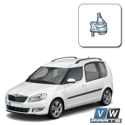 Опора шаровая Skoda Roomster - замена, vw-parts.ru