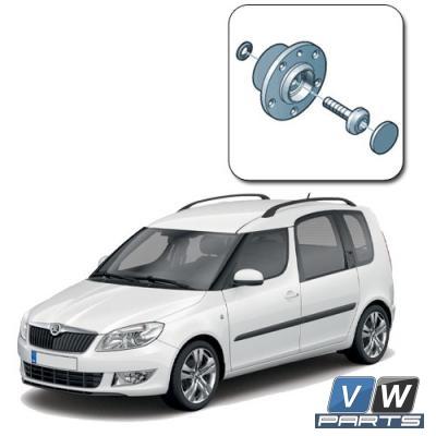 Ступица передняя Skoda Roomster - замена, vw-parts.ru