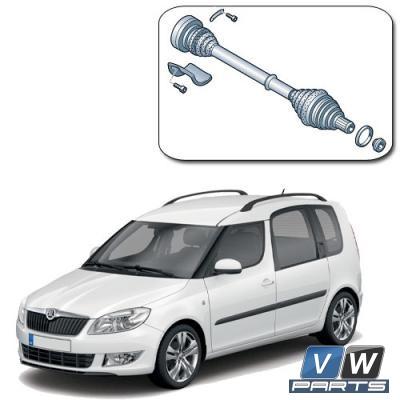 Привод в сборе Skoda Roomster - замена, vw-parts.ru