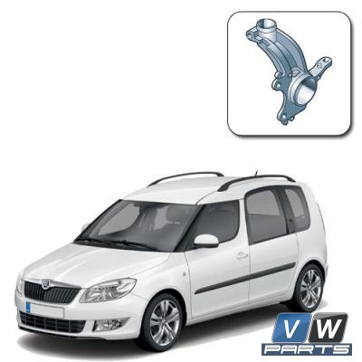Кулак поворотный передний Skoda Roomster — замена, vw-parts.ru