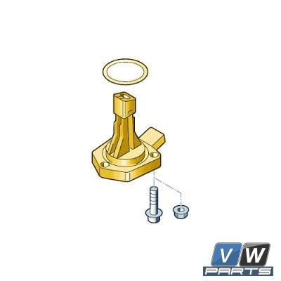 Датчик уровня и температуры масла в системе смазки двигателя Volkswagen Tiguan - замена, vw-parts.ru