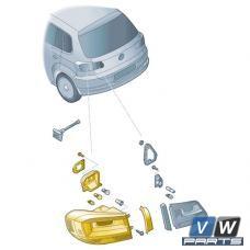 Задний фонарь снаружи Volkswagen Tiguan - замена