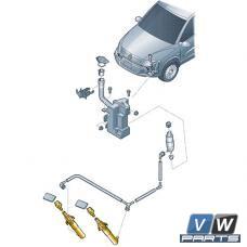 Жиклёр фароочистителя с цилиндром Volkswagen Tiguan - замена