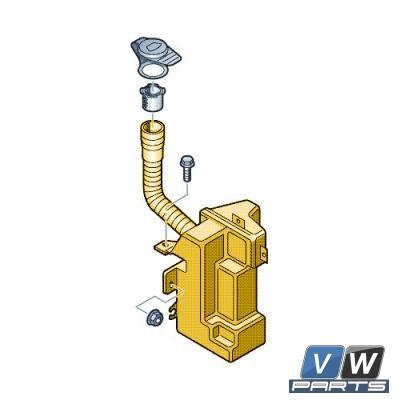 Бачок стеклоомывателя Volkswagen Tiguan - замена, vw-parts.ru