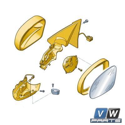 Зеркало заднего вида Volkswagen Tiguan - замена, vw-parts.ru